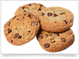 3 Chocolate Chip Cookies image