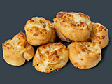 Ham & Cheese Dough Swirls image